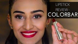Colorbar lipstick review
