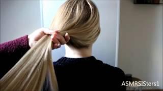 ♥ ASMR Hair Brushing ♥
