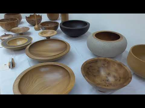 Woodturning Exhibition, Strule Arts Centre, Omagh, Co. Tyrone