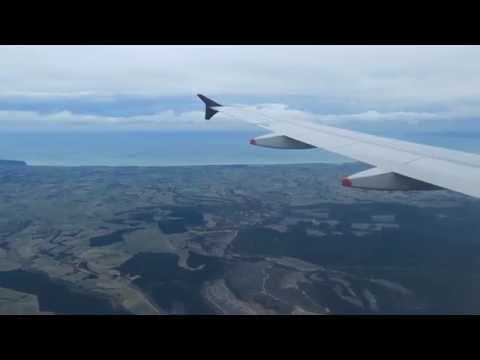 Air New Zealand Flight Experience: NZ521 Auckland to Christchurch