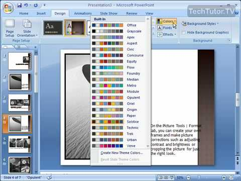 slide templates for powerpoint 2007