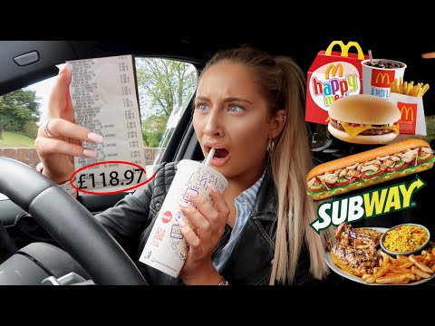 Letting The Person in FRONT of Me DECIDE What I Eat For 24HOURS!!