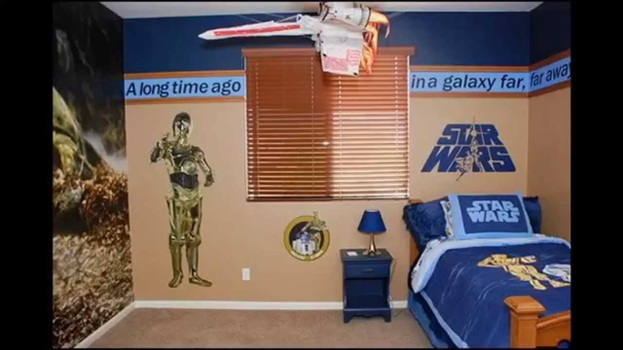 Star wars room decor ideas - YouTube