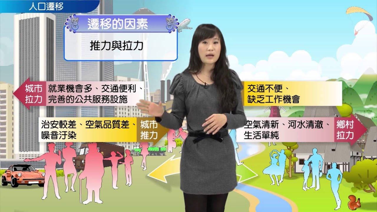 【升學密碼】人口遷移   地理   數位學習   Study21 - YouTube