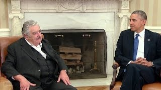 President Obama's Bilateral Meeting with President Mujica of Uruguay