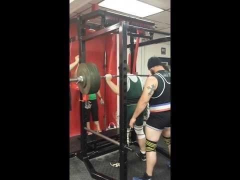 Wolverine state Iron Bash APA 525lb squat
