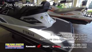 2016 Yamaha VX Cruiser at Fun Bike Center Motorsports Lakeland