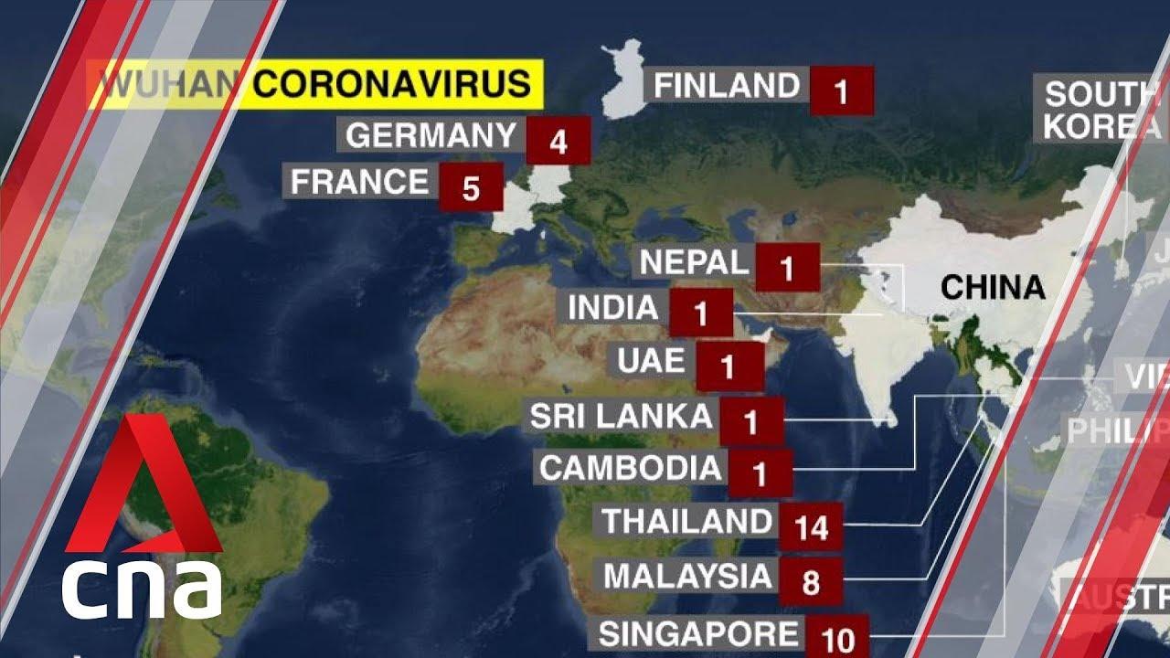 live coronavirus map cna