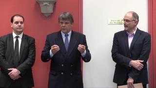Signature de la Convention de ruralité de l'Yonne à Cussy-les-Forges (89)