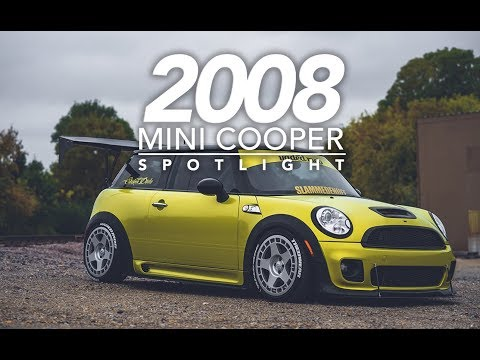 2008 Mini Cooper on Turbomac's Vaded Mob  Chassis Wing
