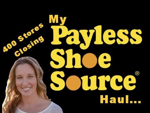 My Payless shoes haul...