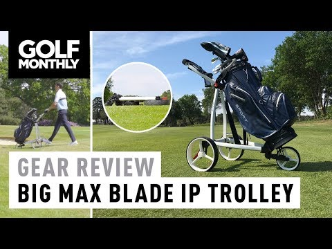 Big Max Blade IP Trolley + Aqua Sport 2 Bag Review | Golf Monthly