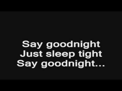Bullet For My Valentine - Say Goodnight (ACOUSTIC) lyrics HD