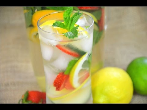 How to Make Infused Detox Water น้ำดีท็อกซ์ เพื่อสุขภาพจ้า