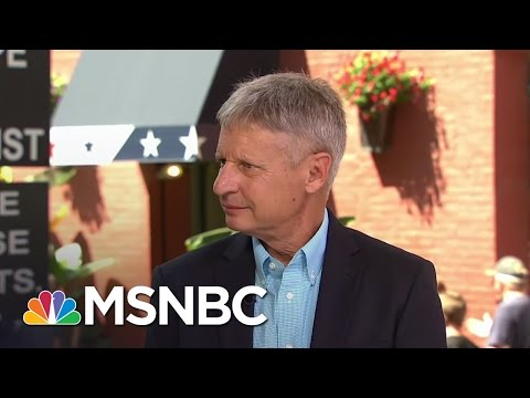 Gary Johnson Trying To Upend Presidential Race | MSNBC