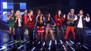 InTENsity - My Life Would Suck Without You - Top 12 - X-Factor USA Sing Off Elimination