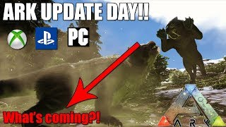 ark consolepc update day whats coming the phoenix ark survival evolved