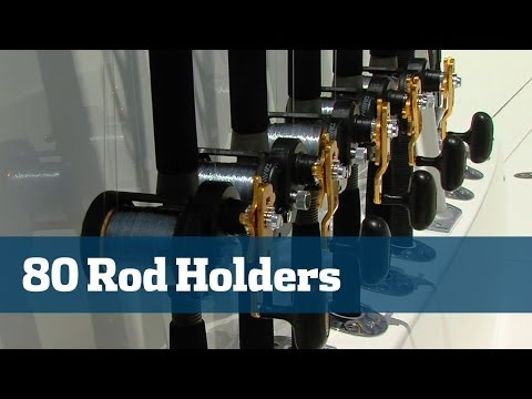 Rod Holder Design & Configuration Aboard SeaVee 39 - Florida Sport Fishing TV