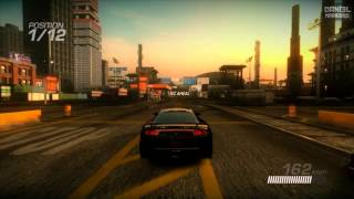 Ridge Racer Unbounded PC on HD 6970 - ALL MAXIMUM 1080p