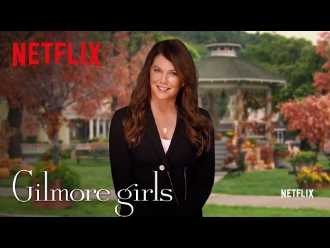 Gilmore Girls Global Announcement | Lauren Graham [HD] | Netflix