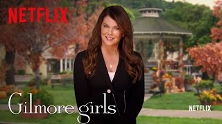 Gilmore Girls Global Announcement - Lauren Graham - Netflix [HD]
