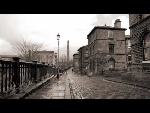Saltaire  Victorian village -  Bradford, Yorkshire, England. UNESCO World Heritage Site