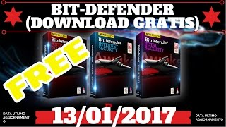 ➜SCARICARE BITDEFENDER 2017 GRATIS [AGGIORNATO 13/01/2017]{link in descrizione per il nuovo metodo }
