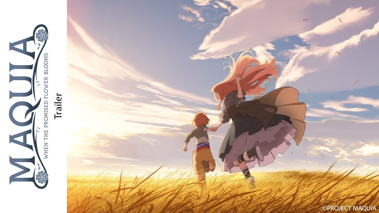 Trailer Maquia When The Promised Flower Blooms Def Version