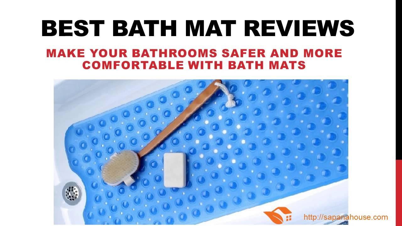 Best Bath Mat Reviews, Non Slip Bath Mat Reviews   Jul 2016