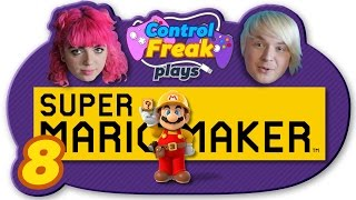 "Super Mario Maker PART 8 ""WTF is Touch Fuzzy Get Dizzy??"" - Control Freak"