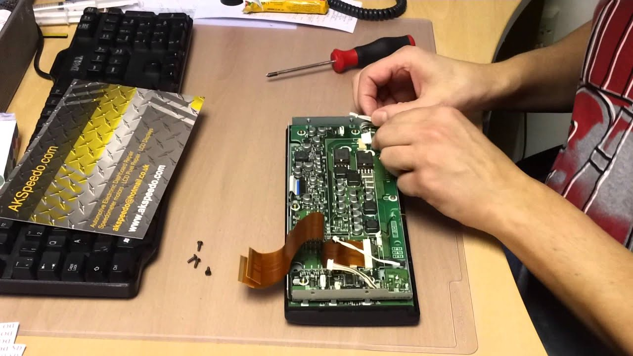 Bmw e39 e53 x5 satellite navigation lcd screen replacement pixel repair youtube