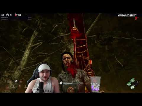 Dead by Daylight RANK 1 MYERS! - YOU HACK MR  STRIMMER?