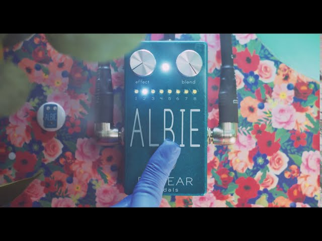 BIG EAR pedals- ALBIE (multi-multi effect)