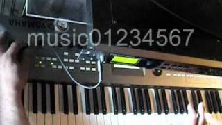 Yamaha Motif-Rack Trance Techno Jam