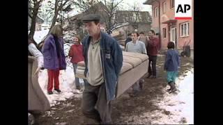 BOSNIA: MRKONJIC GRAD: REFUGEES SITUATION UPDATE