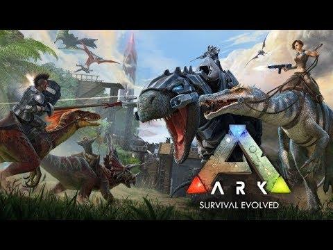 ARK SURVIVAL EVOLVED LIVE PART 4!!!!!!