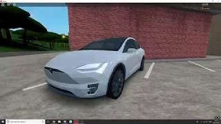 ROBLOX| 2017 TESLA MODEL X 75D || DRIVE