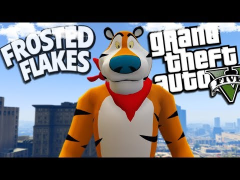 """Frosted Flakes """"Tony the Tiger"""" Returns (GTA 5 Mods)"""
