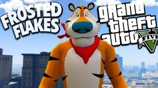 "Frosted Flakes ""Tony the Tiger"" Returns (GTA 5 Mods)"