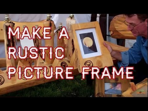 How To Make A Simple Picture Frame By Mitchell Dillman Youtube