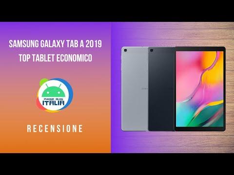 """SAMSUNG GALAXY TAB A 2019 10.1""""   T510   TOP Tablet Economico   Recensione PHONE BLOG ITALIA"""