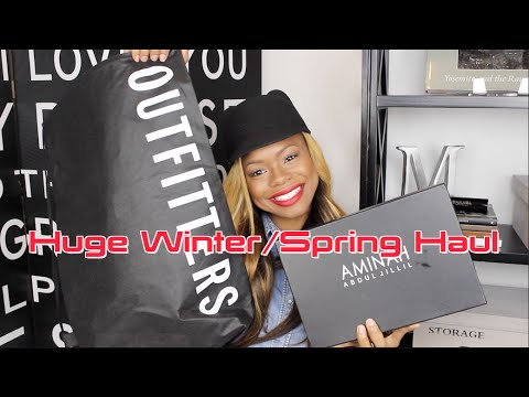 Huge Winter Spring Haul // Zara, H&M, Urban Outfitter and much more!