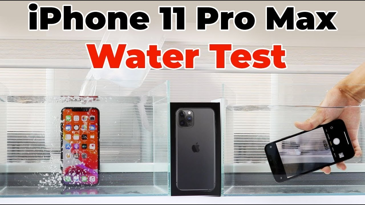 Photo of Will iPhone 11 Pro Max Survive Underwater | Waterproof Test – شركة ابل