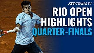 Coric, Garin Reach Semi-Finals | Rio 2020 Day 5 Highlights thumbnail
