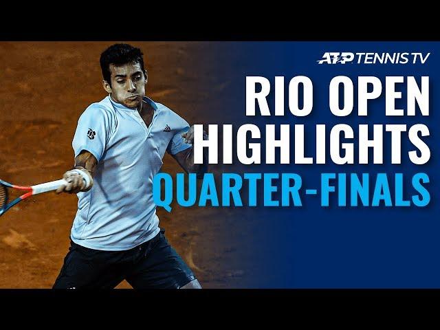 Coric, Garin Reach Semi-Finals | Rio 2020 Day 5 Highlights