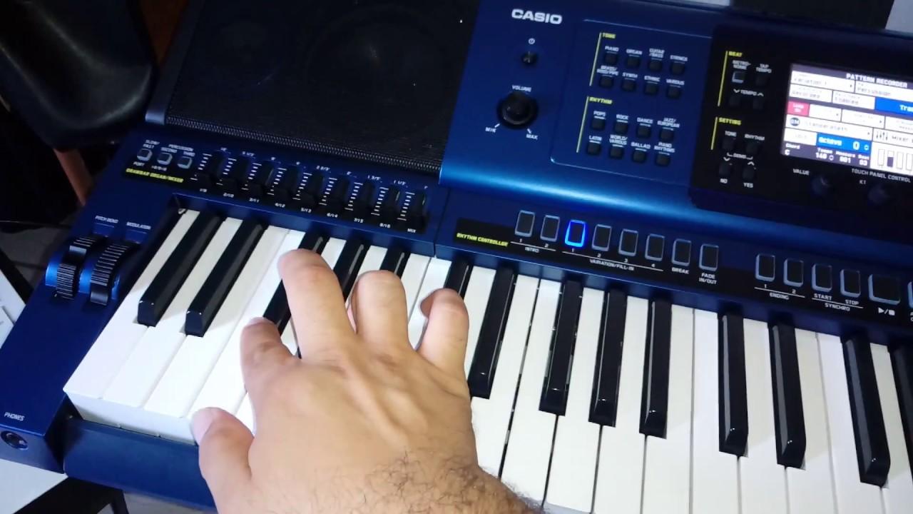 afb3467cce88 como criar um ritmo no teclado CASIO MZ X500 (passo a passo) - YouTube