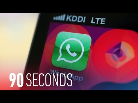 Facebook buys WhatsApp for $16 billion: 90 Seconds on The Verge
