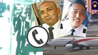 Кому звонил капитан рейса МН370?