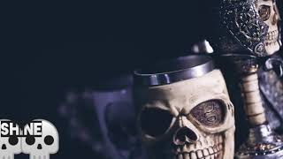 Gothic skull mugs/goblets and cups