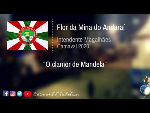 Flor da Mina do Andaraí 2020